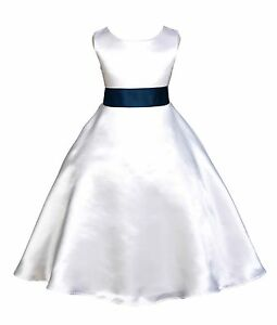f82050f19be Image is loading WHITE-JR-BRIDESMAID-INFANT-TODDLER-PAGEANT-RECITAL-PARTY-