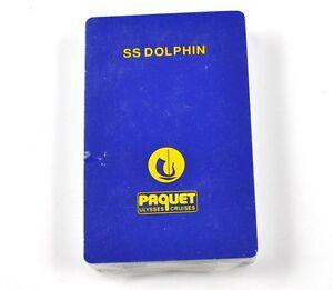 Ss-Delfin-Ulysses-Cruises-Buque-Ee-uu-Cartas-Juego-Playing-Cards-Aleman