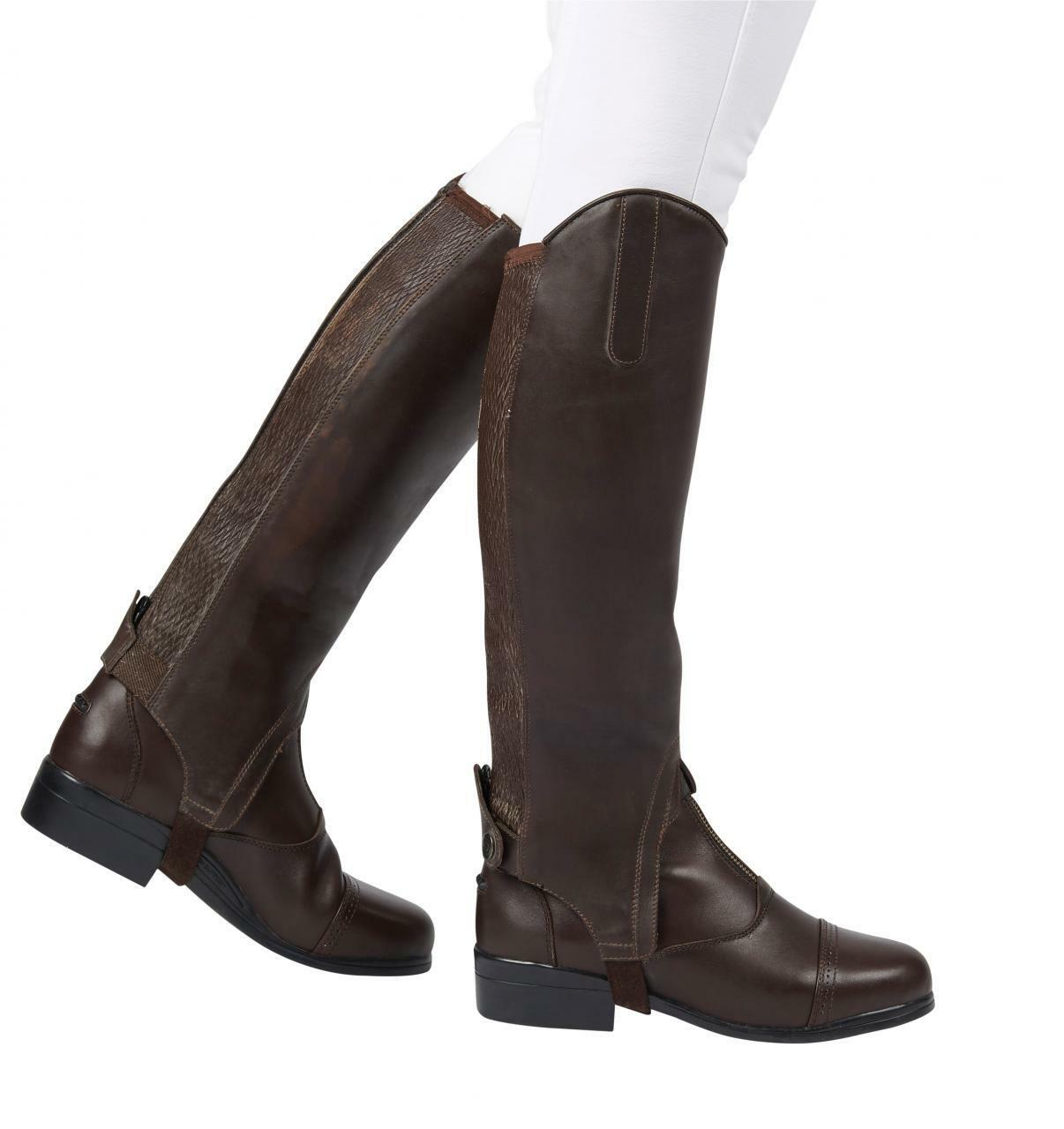 Dublin Meridian Ladies Gaiters,Full Grain Soft Waxy Leather,All Sizes Colours