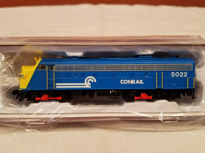 N SCALE RAPIDO TRAINS 15042 EMD FL9 CONRAIL RD DC DCC READY NEW