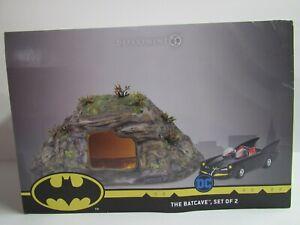Dept-56-Batman-The-Bat-Cave-Set-of-2-6003757-Cave-and-Batmobile