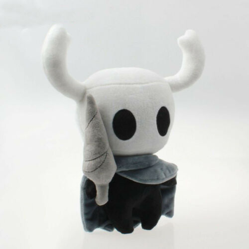 """US Game Hollow Knight Toy Figure Ghost Plush Stuffed Animals 12/"""" Doll Xmas Gift"""