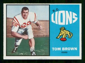 TOM-BROWN-1963-TOPPS-CFL-NO-5-EXMINT-30187