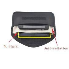 RF Signal Blocker Shield Case Bag Black Anti-degaussing for Large Cellphone GPS