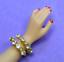 Dreamz-SNAKE-BRACELET-Diamond-Rhinestone-made-for-11-034-Barbie-Doll-Jewelry thumbnail 1