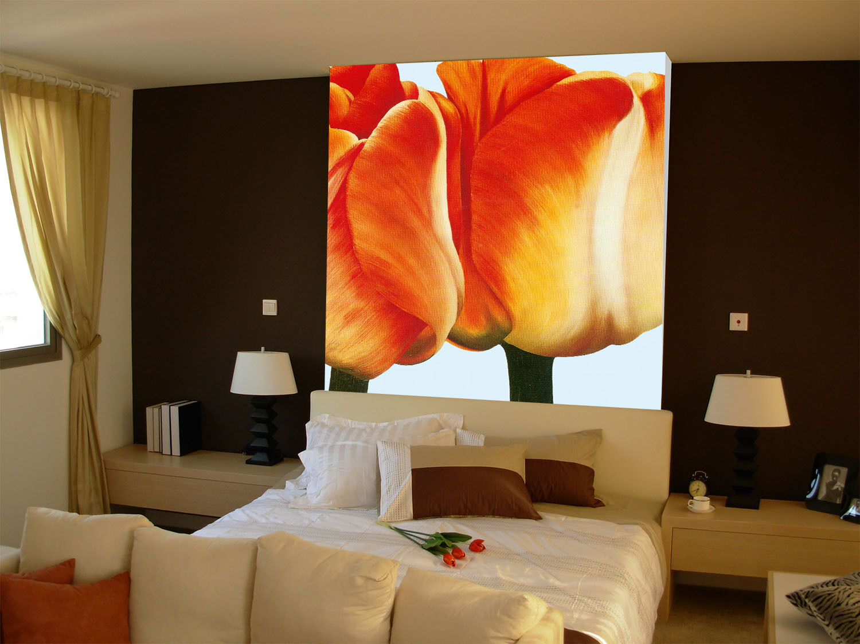 3D Tulip flower 2481 Paper Wall Print Decal Wall Wall Murals AJ WALLPAPER GB