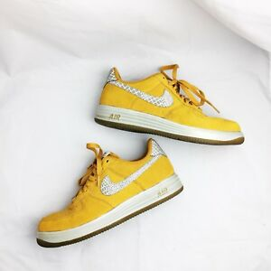 f4733ca56f3a Nike Lunar Force 1 Low Reflect Gold Suede Edition 9.5 Rare