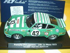 Duvx) Fly A903 88184 Porsche 911 Carrera Rsr 24h Le Mans 1973 -slot 1:32 Scale