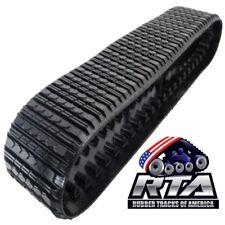 One Rubber Track Fits Cat 287 Amp 287b 18x4x51 Straight Bar Tread