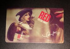 TAYLOR SWIFT Guitar Pick Set RED TOUR Taylor Swift 4 GUITAR PICKS