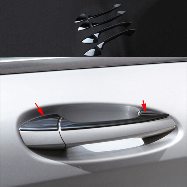 8x steel Outside Door Handle Bowl Cover trim For Ford Edge 2015 2016 2017 2018