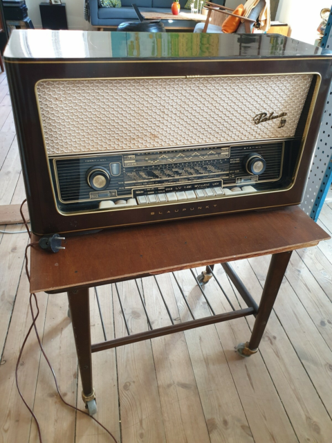 AM/FM radio, Blaupunkt, Palma, God, Antik retro radio…