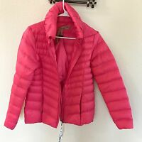 Giordano Pink Coat/jacket Women M