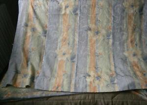 double-rideau-tons-bleu-vert-orange