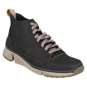 à Bottines décontractées Gris Tri à Free foncé Trigenic Mesdames Clarks lacets Leather lacets aRaXY8qxw