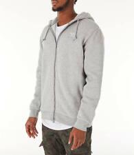 póngase en fila Calvo interferencia  adidas Originals Men's Fleece Trefoil Hoodie Full Zip Size Medium Black  DN6016 for sale online | eBay