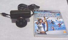 Genuine Sony PS3 Playstation Eye Camera Model SLEH-00448 with Sports Champions