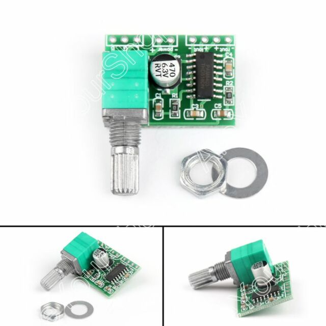 PAM8403 5V Power Audio Verstärker Amplifier Board 2 Kanal 3W Volume Control B3