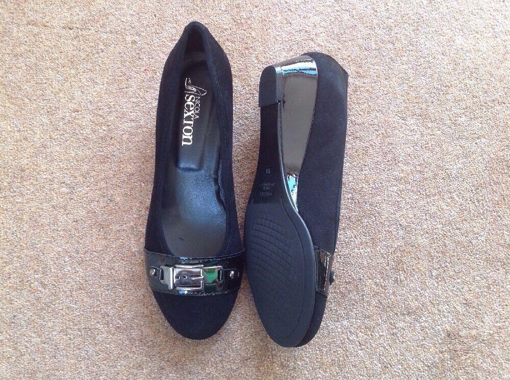 NICOLA SEXTON BLACK Schuhe SIZE SIZE Schuhe 7 9e8b20