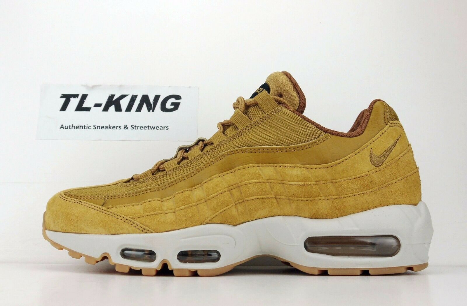 Nike Air Max Max Max 95 SE Wheat Light Bone Black AJ2018 700 AL c41dee