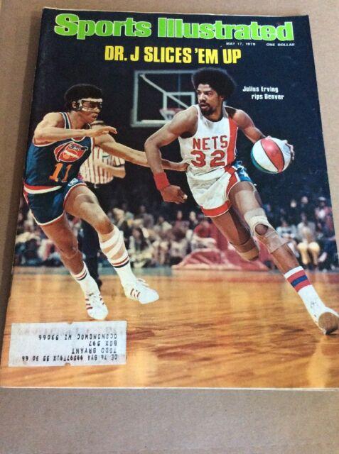 MAY 17 1976 SPORTS ILLUSTRATED (sport magazine) Julius Erving Dr. J Nets