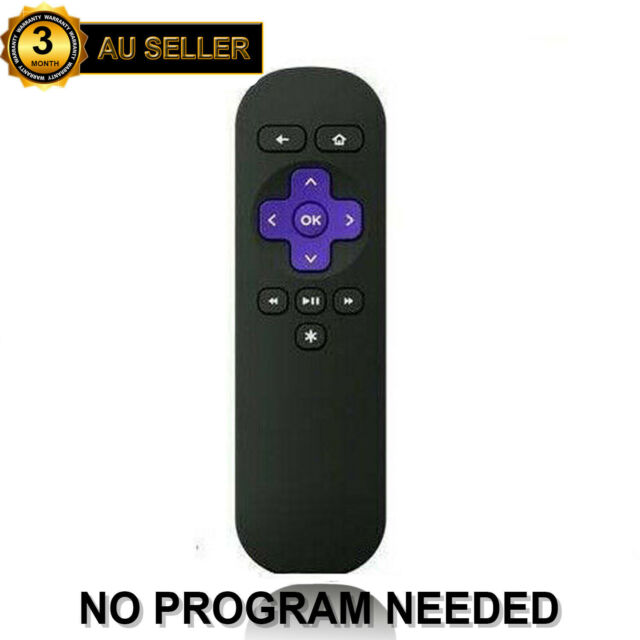 AU Replacement Remote Control For ROKU 1 2 3 4 LT HD Telstra TV 1, Telstra TV 2