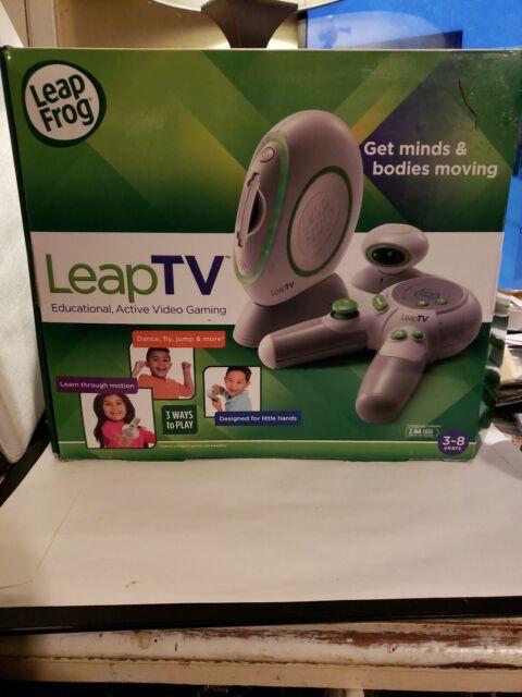 LeapFrog LeapTV Leap Frog Educational Gaming System 3-8 ...