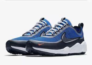 Details about Nike Air Zoom Sprdn Spiridon Regal Blue Metallic Silver 876267 400 Mens Size 9