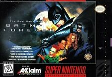 Batman Forever SNES Great Condition Fast Shipping