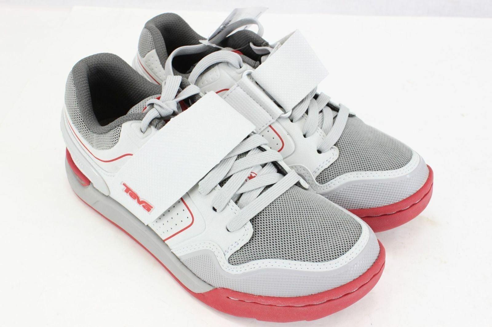 Teva Men's Pivot Cycling shoes Light Grey Size 5 1002980 NOS