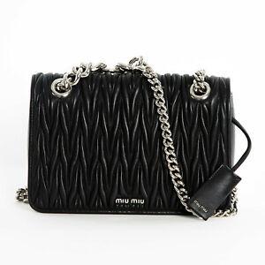 New Club About Crossbody Details Black Silver Bag N88 Miu Shoulder Lamskin Chain 5bd015 35RL4Aj