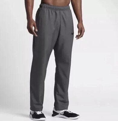 NEW $55 Nike MEN/'S TRAINING RUNNING PANTS DRI FIT SIZE MEDIUM DARK GREY//BLACK
