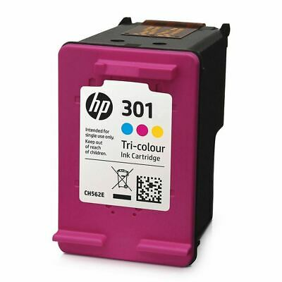 HP 301 / 301XL Black & Colour Ink Cartridges For ENVY 5532 Inkjet Printer