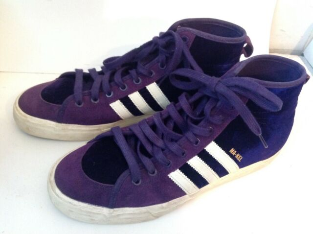 adidas matchcourt high rx purple