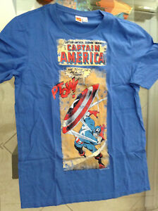 CAPTAIN-AMERICA-76-CLASSIC-PANEL-T-SHIRT-L-40-NEW-SOLD-OUT-DESIGN-AVENGERS-12356