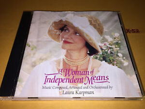 Details about A WOMAN of INDEPENDENT MEANS soundtrack CD laura KARPMAN  sally field