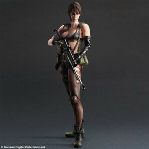 PA Metal Gear Solid V The Phantom Pain Play Arts Kai Quiet Figure Toy Gift