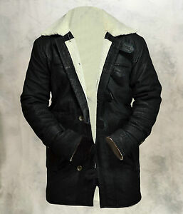 BANE-Dark-Knight-Rises-Genuine-Cowhide-Leather-Matt-Finish-Black-Jacket-Coat
