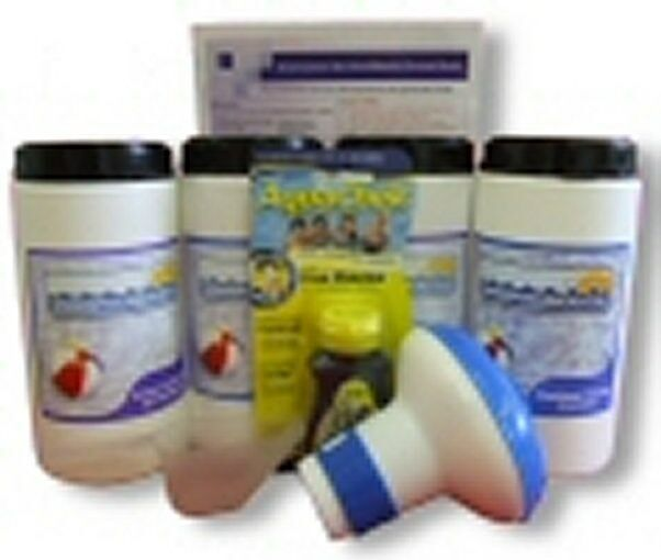 Small Pool Starter Kit with Multifunctional Tablets