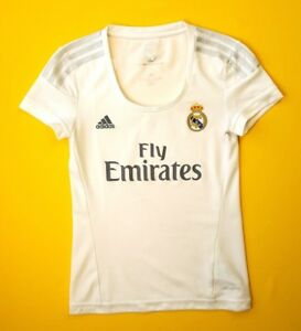8479a6474f8 Real Madrid women jersey XS 2015 2016 home shirt S12658 soccer ...