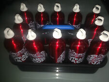 Flaschenträger Flaschenhalter für 12 schw Trinkflaschen Alu Trinkflaschenhalter