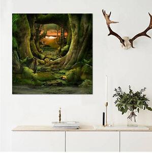 3D-Animals-large-tree-Wall-Stickers-Vinyl-Murals-Wall-Print-Deco-Art-AJSTORE-UK