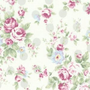 Remarkable Details About Cottage Shabby Chic Lecien Princess Rose Floral 31265L 90 W Grey Dots Bty Download Free Architecture Designs Boapuretrmadebymaigaardcom