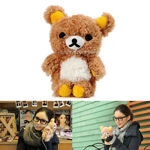 Cute 3D Teddy Bear Doll Toy Cool Plush Case Cover For ...