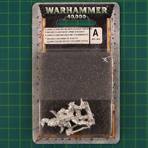 DARK ELDAR Incubi Shredder (45-43) drukhar WARHAMMER 40K métal BLISTER 11124