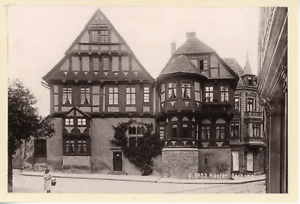 Allemagne-Hoxter-Dechanei-vue-generale-Vintage-albumen-print-Tirage-al