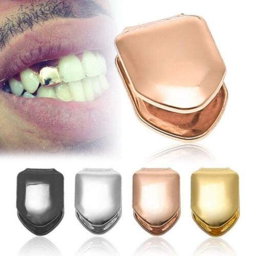 Hip Hop Men Grill Rapper Iced Out Teeth Cool Single Tooth Cap New LC