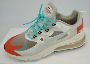 Details about Nike Air Max 270 React AO4971 200 Light Beige Chalk Platinum  Tint Mens Size 14