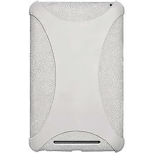 AMZER-Silicone-Soft-Skin-Jelly-Case-Cover-For-Google-Nexus-7-Transparent-White