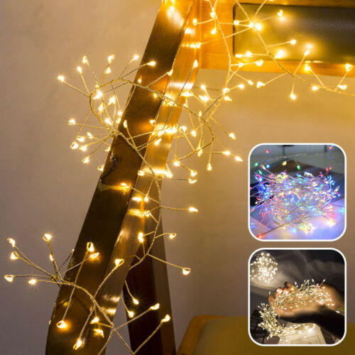 LED Copper Wire Lights USB Battery Garden Fairy String Micro Xmas Party Home UK